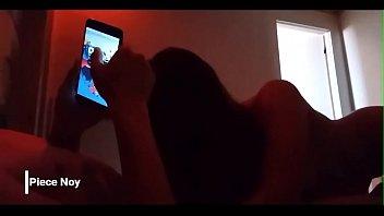 Чернокожий ловелас чпокает в попку молодуху с маленькой титькой